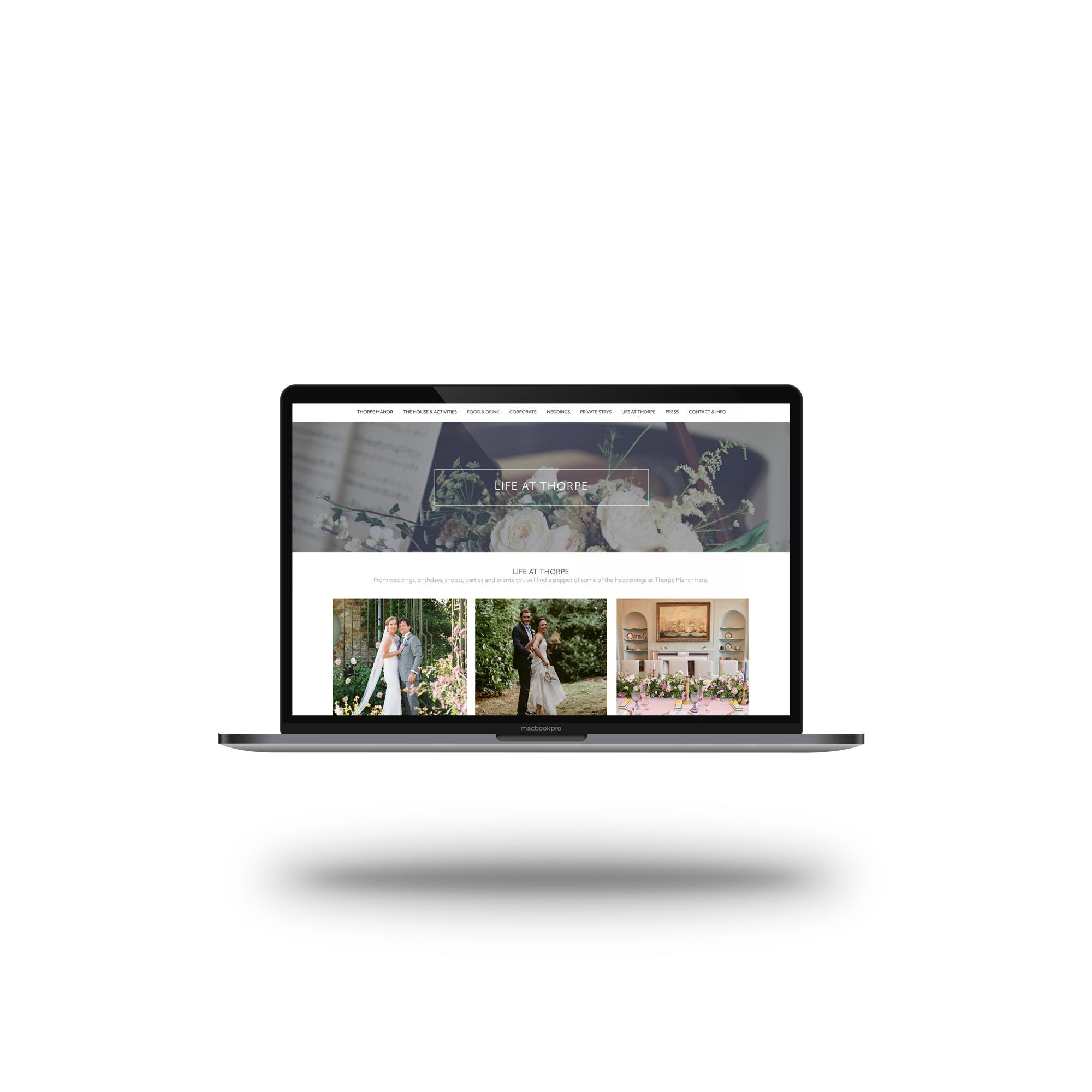 desktopthorpe manor homepage