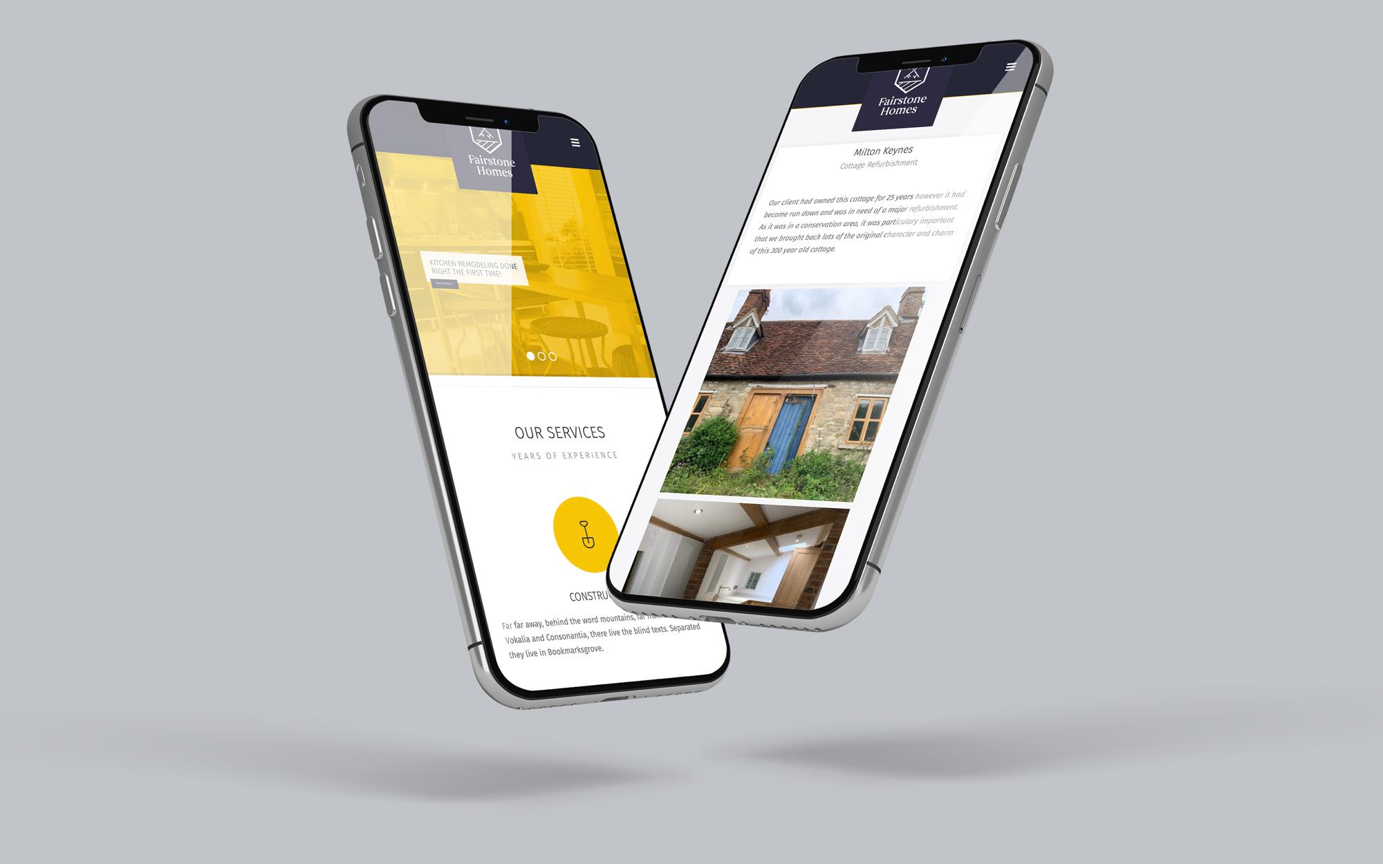 mobileportfolio home