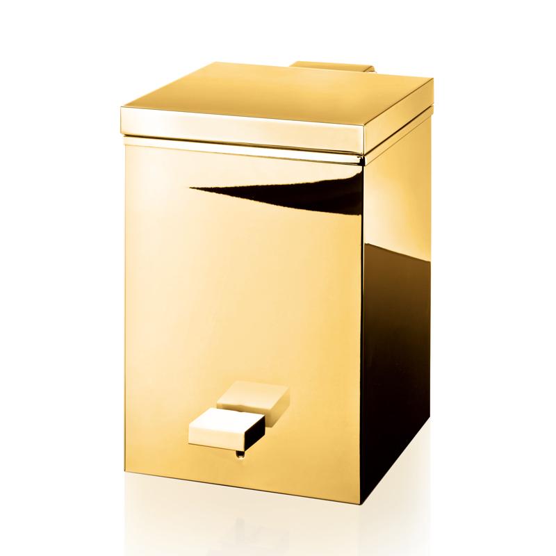 Bathroom accessories sea emporium for Gold bathroom bin